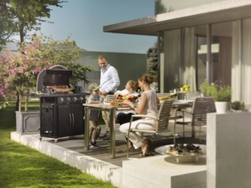 Outdoorchef CANBERRA 4G schwarz BBQ Gasgrill Grillstation 4 Brenner 18.131.27 - 7