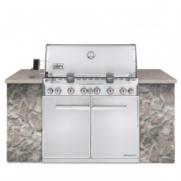 Weber Gasgrill Summit S-660 Built-in Edelstahl